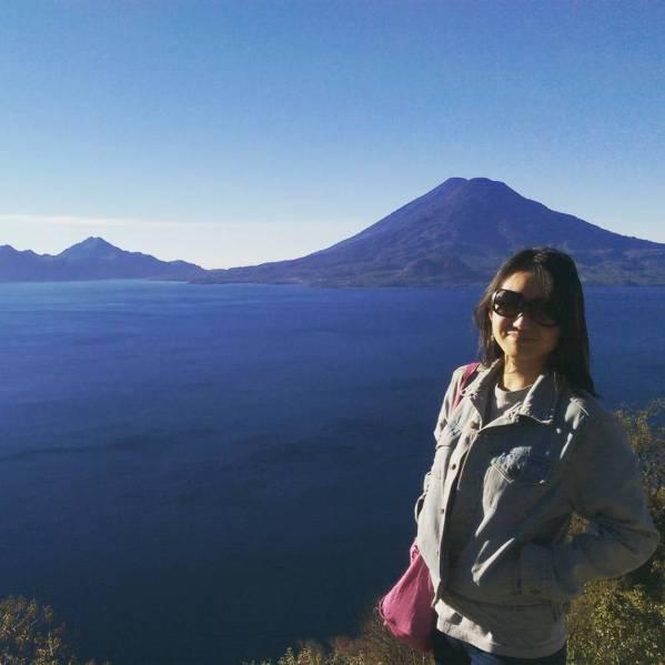 Daniel Zhao at Lago de Atitlan